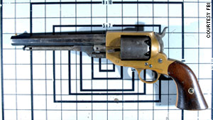 This .36-caliber Spiller & Burr revolver, which has an estimated value of $50,000.