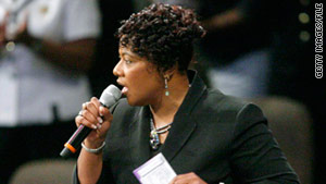 The Rev. Bernice King says she will shift her focus to advancing the family legacy's growth.