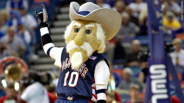 The University of Mississippi retired Colonel Reb as its mascot in 2003.