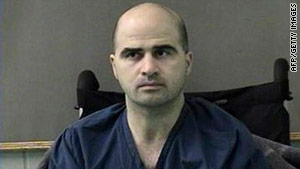 Maj. Nidal Hasan is accused in the deadly shootings at Fort Hood, Texas, in November 2009.