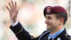 Staff Sgt. Salvatore Giunta was awarded the Medal of Honor in November.
