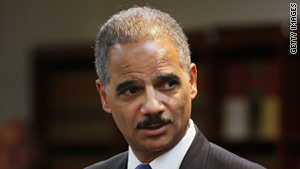 "Attorney General Eric Holder lauded ""the largest federal health care fraud takedown in our nation's history."""
