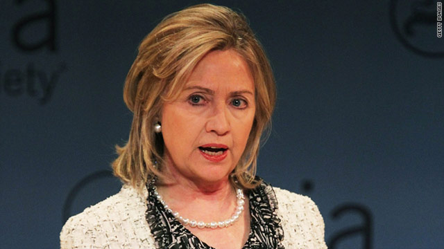 Secretary of State Hillary Clinton said Friday that the Taliban would have no choice but to abandon al Qaeda in Afghanistan.