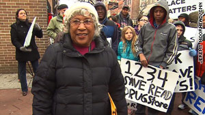 Helena Hicks is trying to save the vacant building where she participated in a 1955 sit-in.