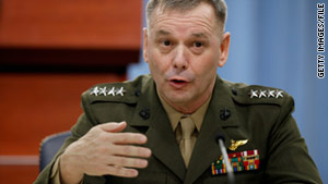Marine Corps Gen. James Cartwright was cleared of wrongdoing by the Pentagon inspector general.