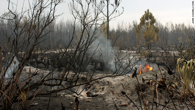 Wildfires have burned more than 17,000 acres in Central Florida.