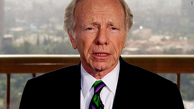 Sen. Joe Lieberman, I-Connecticut, supports enacting a no-fly zone above Libya and arming the opposition.