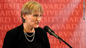 Harvard President Drew Faust will sign an agreement Friday to bring ROTC back to the school's campus.