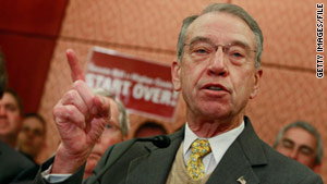 "Sen. Charles Grassley said the ATF allowed a Phoenix man to make repeated purchases of guns after his name had been entered into a ""suspect person database."""