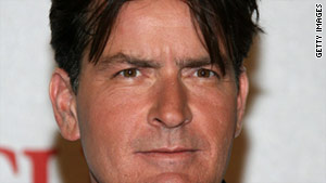 A group of witches and warlocks cast a spell on Charlie Sheen for mocking their beliefs.