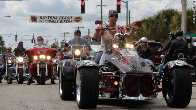 The Bike Week celebration in Daytona Beach, Florida, lasts 10 days. The crowd it attracts has changed through the years.