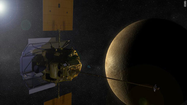 It took the Messenger spacecraft more than 6 years to make the 4.9-billion-mile trip to Mercury.