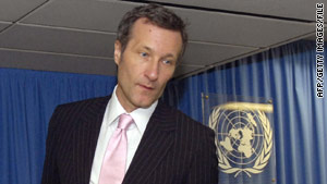 Tibor Toth, executive director of the Comprehensive Test Ban Treaty Organization, says the radiation amount is not harmful.