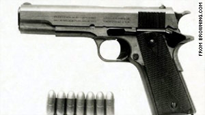 The U.S. military chose the M1911 to be its standard-issue sidearm for all branches of service in 1911. It remained so until about 15 years ago.