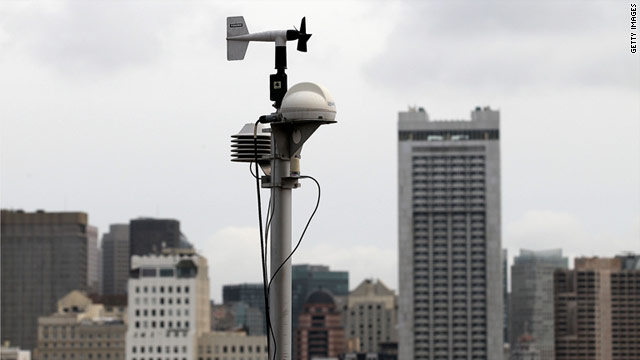 Since Japan's nuclear crisis, more RadNet radiation monitors like this one have been deployed in areas in the west coas