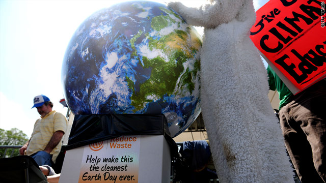 Earth Day will be celebrated on April 22, just two days after the first anniversary of the start of the Gulf oil spill.