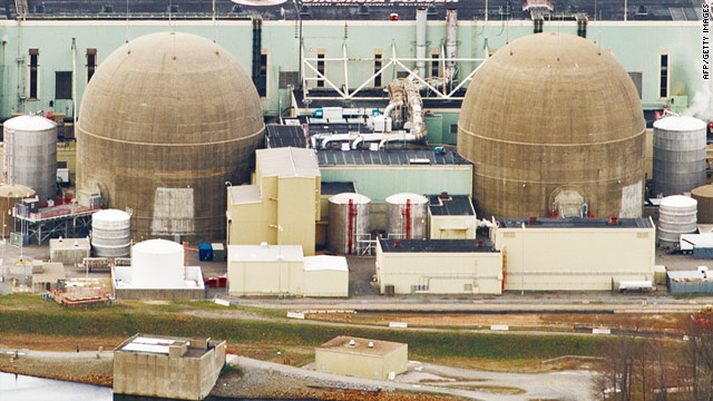 The North Anna nuclear plant operates near Richmond, Virginia. Problems in Japan have raised nuclear concerns elsewhere.