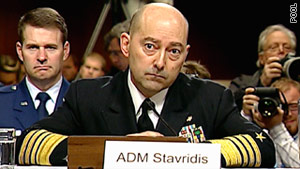 Adm. James Stavridis says there is no evidence of a significant presence of al Qaeda in the Libyan opposition.