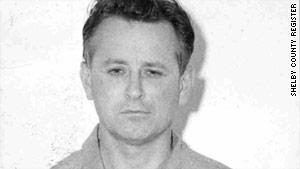 James Earl Ray, here in a 1968 jail booking photo, later recanted killing the Rev. Martin Luther King Jr.