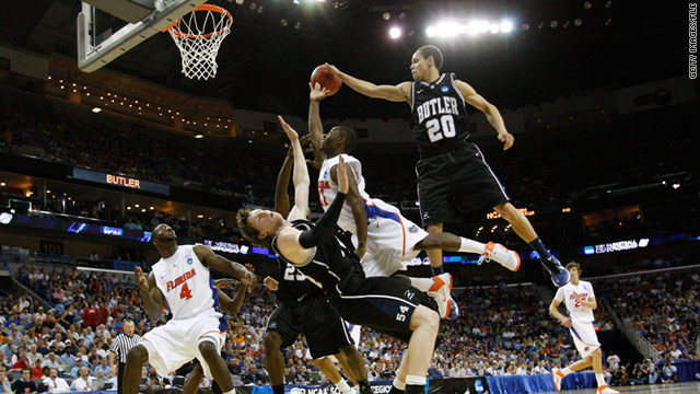 The Butler Bulldogs, a No. 8 seed, stuffed the No.2-seeded Florida Gators' chance at a championship last weekend.