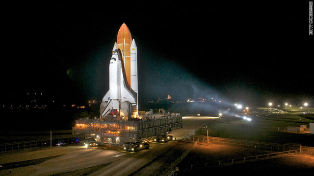 Close inspections of space shuttle set to begin - CNN.com