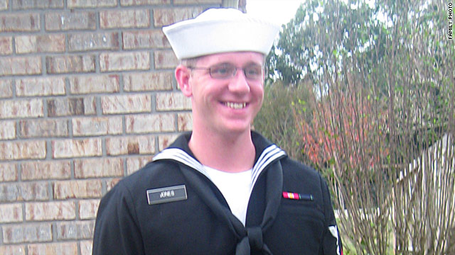 Petty Officer Stephen Jones has said that the Navy was trying to discharge him because command suspects he is gay.