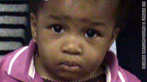 11-month-old Laianna Pierre died in the Tuesday incident.