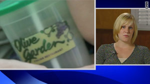Jill Vanheest's  2-year-old son was given sangria on March 31 at an Olive Garden in Florida.
