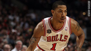 "Shaul Powell calls Chicago Bulls No. 1 Derrick Rose a ""human blur of a point guard."""