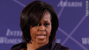 First lady Michelle Obama's life was never in danger, Transportation Secretary Ray LaHood said Wednesday.