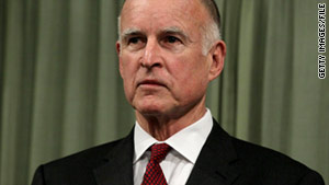 Gov. Jerry Brown does not plan to attend any public events until his stitches are removed, according to a statement.