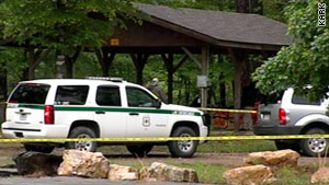 Arkansas authorities are searching the Ouachita National Forest for a missing Boy Scout troop from Louisiana.