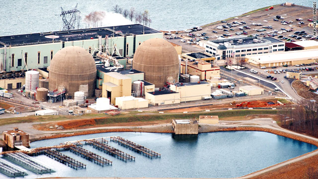 A federal task force says U.S. reactors don't have significant safety issues. Shown in Virginia's North Anna Power Station.