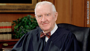 Retired Supreme Court Justice John Paul Stevens spoke of the bin Laden raid in remarks at Northwestern University.