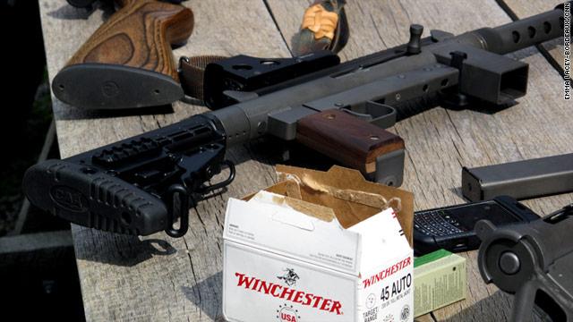 "Jason Reichenbach describes his weapons as ""big-boy toys."""
