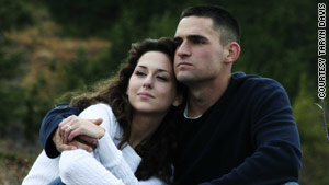 Taryn Davis lost her husband, Army Cpl. Michael Davis, four years ago. He was killed by roadside bombs in Iraq.