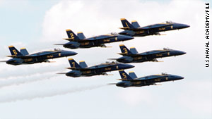 The Blue Angels have canceled several performances because of the shakeup in leadership.