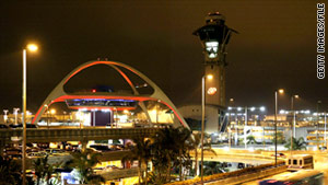 Los Angeles International Airport reported 102 laser events last year -- the highest number for a single airport in the U.S.