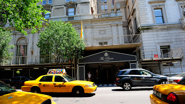 Former Egyptian bank executive Abdel Salam Omar was charged with sexually abusing a housekeeper at the Pierre hotel.