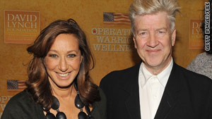Donna Karan and David Lynch attend a December function for Lynch's foundation, which aims to relieve PTSD in veterans.