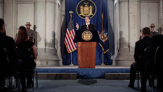 Since his inauguration in January, Gov. Andrew Cuomo has pledged to allow gay couples in New York to marry.