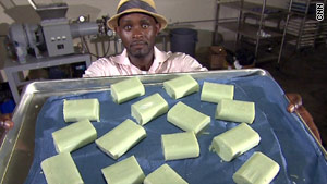 Derreck Kayongo, a Uganda native, started the Global Soap Project in 2009.