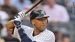 Derek Jeter is on the verge of being the first player to get 3,000 hits with the New York Yankees.