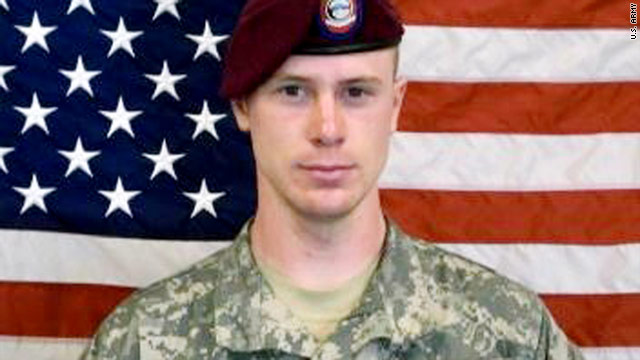 Sgt. Bowe Bergdahl was a private first class at the time of his capture in 2009.