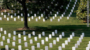 The recovered bodies of five World War II airmen will be buried at Arlington National Cemetery or in their hometowns.