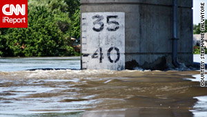 Sioux City, Iowa, is experiencing worsening flood conditions.