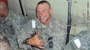 Cpl. Andrew Wilfahrt was just two days from leave from the Afghanistan theater when he was killed.