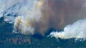 The Las Conchas fire in New Mexico has burned more than 113,000 acres.