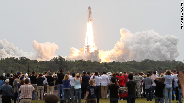 The space shuttle Atlantis lifted off Friday morning on the final mission of America's 30-year space-shuttle program.