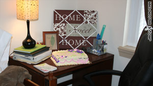 Kathy Becknel and Kelly Batcho of r2r design gave Bea's dorm room a makeover.